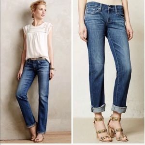 AG Adriano Goldschmied Tomboy Jeans 26R Made In US